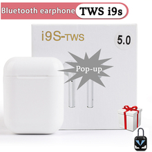 i9s TWS Wireless Bluetooth Earphones Sport Earbuds With Accessories Luxury Cases For i7s i10 i12 i200 i30