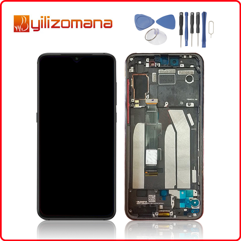 Original For <font><b>XIAOMI</b></font> Mi 9 SE LCD <font><b>Display</b></font> Touch Screen Digitizer Assembly For <font><b>XIAOMI</b></font> <font><b>Mi9</b></font> SE <font><b>Display</b></font> with Frame Replacement image