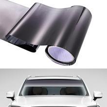 HOTEU Car Sun Shade Vinyl Windscreen Cover Protector Car Front Window Sun Visor Dust Cover Colors Sticker 20CM*150CM