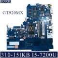 KEFU NM-A981 Laptop motherboard für Lenovo 310-15IKB original mainboard 4G-RAM I3-7100U GT920MX