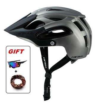 ALLTRACK kaski rowerowe kask terenowy kolarstwo rower sport górskie kaski rowerowe BMX MTB zawór bezpieczeństwa szosowy kask rowerowy tanie i dobre opinie Brosailyang os (Dorośli) mężczyzn CN (pochodzenie) about 340g 16-20 Ultralight kask TT-07 Man Women Unisex Cairbull helmet Bicycle helmet fietshelm