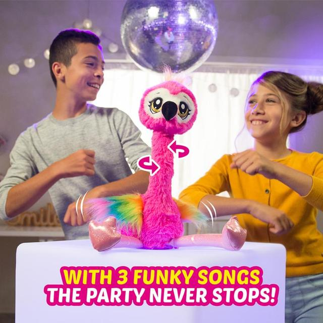 Pets Alive Frankie The Funky Flamingo Battery-Powered Dancing Robotic Toy By Zuru Collectible Toy Anime Figure Toys Gift 6