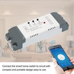 Смарт-переключатель smartome eWeLink 2CH, беспроводной модуль переключения для таймера, автоматизация умного дома, работает с Alexa Google Home IFTTT