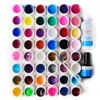 UV Gel polish Nails Kit 24/48 Colors Nail UV Gel Set Nail Art Decor Long Lasting DIY Paint Gel Design Painting Gel