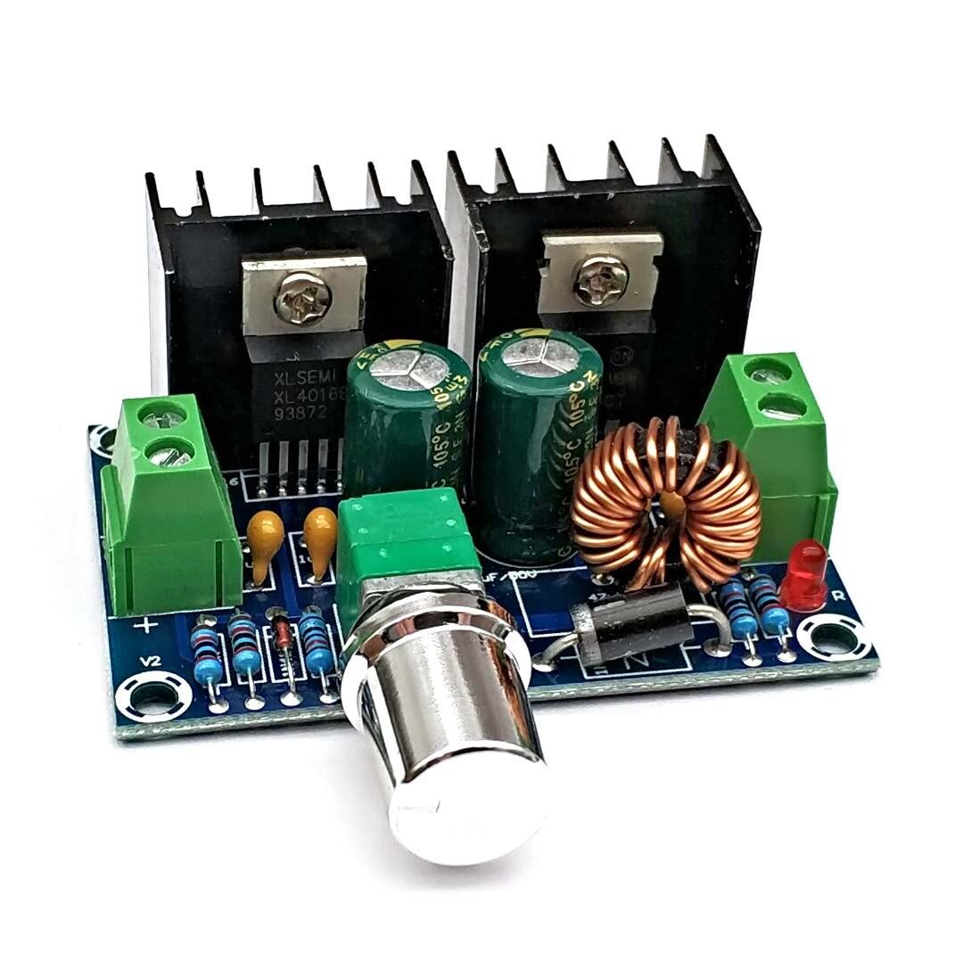 XH-M401 DC-DC Step Down Buck Converter Power Supply Module PWM Adjustable 4-40V To 1.25-36V DC DC Voltage Regulator 8A 200W