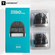 Oryginalny Vaporesso Renova Zero Pod z 2ml pojemności i 1 0ohm cewki głowy rozpylacze zbiornik do e-papierosa dla elektronicznych papierosów zero kit tanie tanio Vaporesso Renova Zero Pod Kit DS Dual 2pcs in one box PCTG