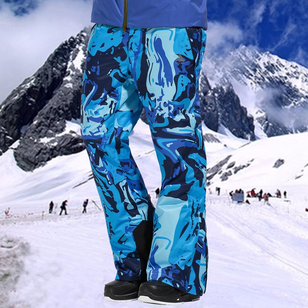 VECTOR Professional Winter Ski Pants Men Warm Windproof Waterproof Snow Skiing Snowboard Pants Outdoor Winter Trousers HXF70016