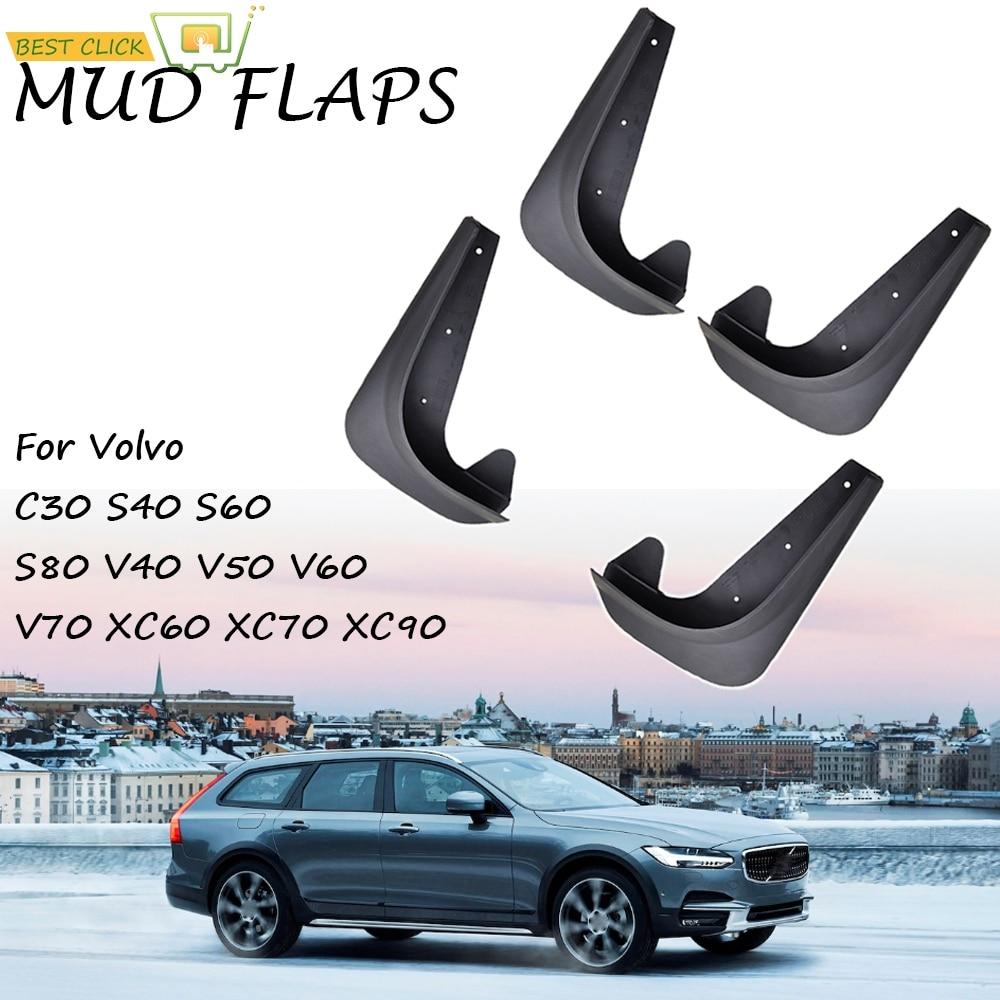 Брызговики для Volvo C30 S40 S60 S70 S80 V40 V50 V60 V70 XC60 XC90