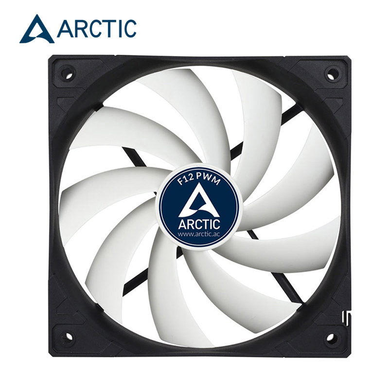 ARCTIC F12 PWM REV.2  CPU Radiator Computer Case 12cm Fan 4pin PMW Temperature Control /4pin Adjust 120mm Watercooling Fans