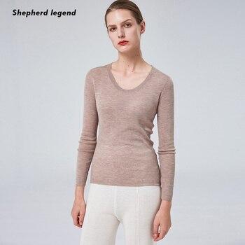 Shepherd Legend Women's Clothing Pure Wool Cashmere Tank Top  Simplee Summer Clothes Women Vest Haut Femme V-neck clothes Coat