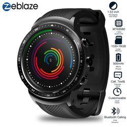 Zeblaze ThOR PRO 3G GPS wi-fi smartwatch Android 5.1 MTK6580 czterordzeniowy 1GB 16GB 2.0 kamery inteligentny zegarek do monitorowania tętna
