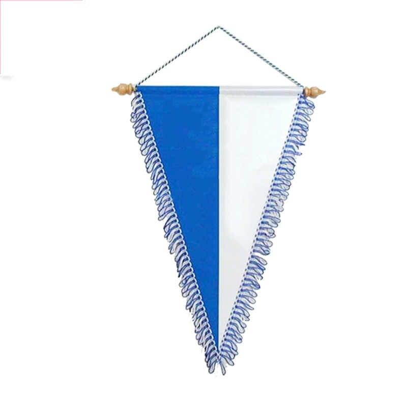 Preço de Venda quente 500pcs Logotipo personalizado galhardete bandeiras 30*45cm bandeira exchang