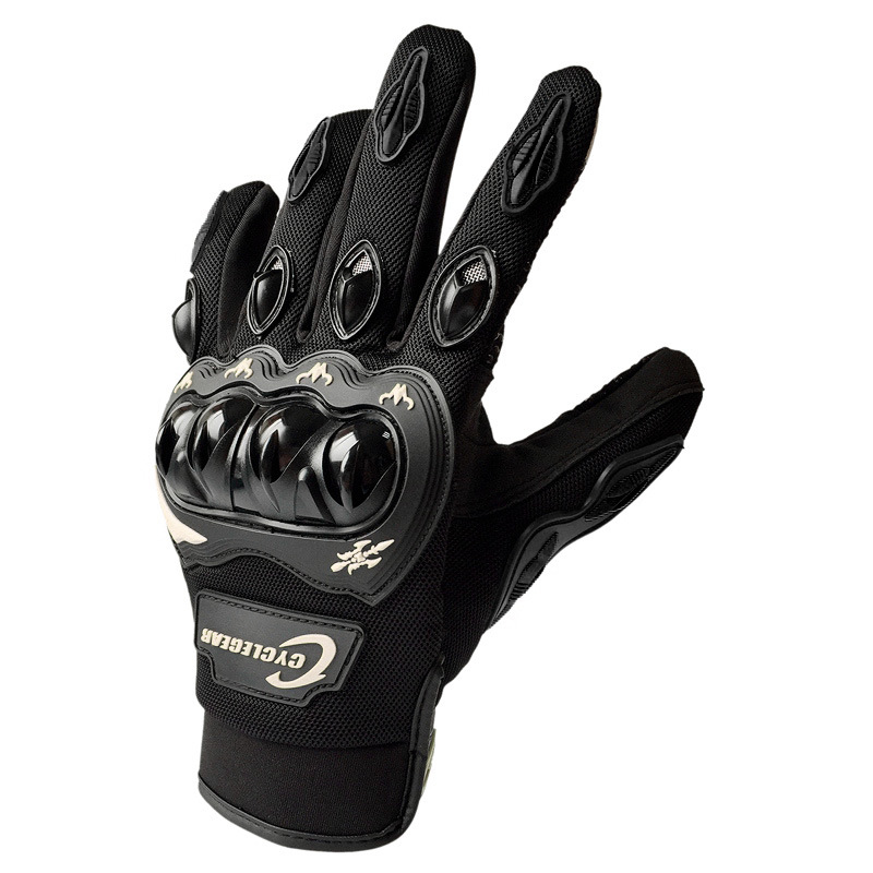 Motorcycle Long Finger Cycling Glove For Men Women Outdoor Sport Motocross Mountain Bike Bicycle Glove Off Road MTB Gloves