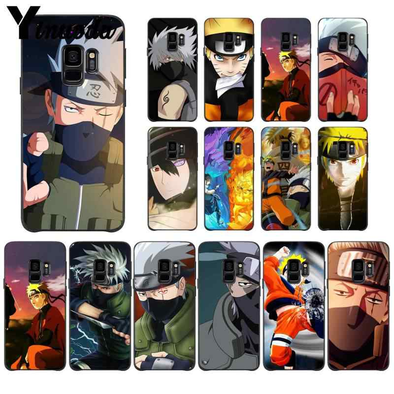 Yinuoda Hokage Naruto Kakashi Japanese anime Painted Phone Case for Samsung GALAXY S10 20 PLUS S10E.jpg q50