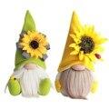 Весенние Подсолнухи пчела праздничные куклы орнаменты Шмель пчела полосатый гном пчела эльфы домашние безликие куклы Декор подарок для де...