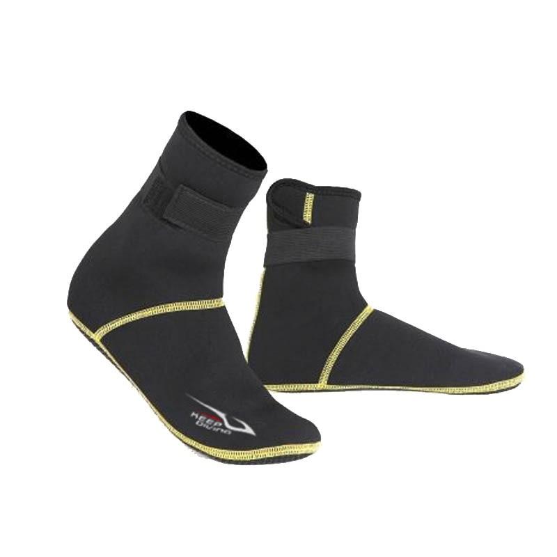 Neoprene Snorkeling Scuba Diving Shoes Socks 3mm Beach Boots Wetsuit Anti Scratches Warming Anti Slip Winter Swimware