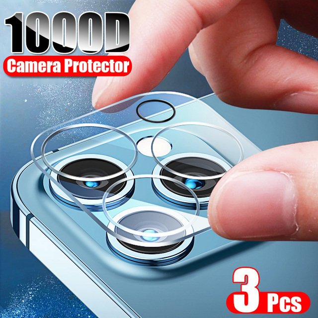 ZNP 3Pcs Camera Tempered Glass For iPhone 12 11 Pro Xs Max Lens Screen Protector On The For iPhone X XR 12 Mini Protective Film 1