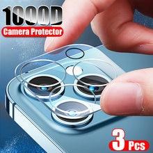 ZNP-cristal templado para cámara de teléfono móvil, Protector de pantalla de lente para iPhone 12, 11 Pro, Xs Max, X, XR, 12, Mini película protectora, 3 uds.