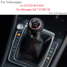 Boot Vw Golf Stick-Level-Shift-Knob Gear 5/6-Speed for 7/A7/Mk7 with LHD Car GTI GTD