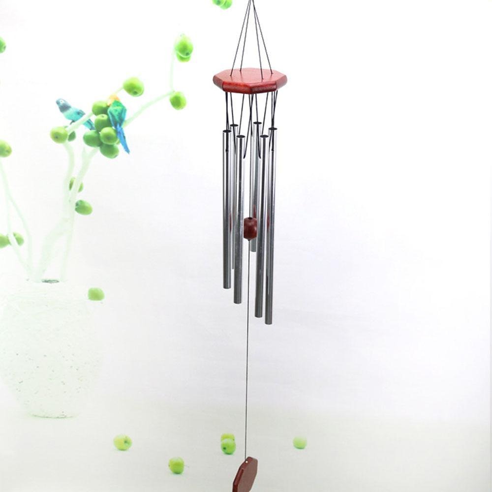 Large Wind Chimes Outdoor Design Garden Porch Balcony Home Decoration Wind Bells Ornament Redwood Windchimes Room Decor 2