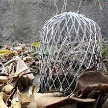 4 шт. Eave Открытый Сад алюминиевый фильтр дренажный листья мусора сетки 3 дюймов водосточный Стоп Блокировка желоба защита практичный