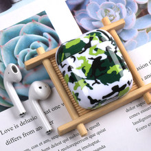 For AirPods 2 Case Luxury Colorful Camouflage Hard 3D Pattern Earphone Case for Apple Airpods Headphone Case Capa Air Pods 2(China)