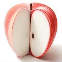 Креативные блокноты в форме яблока липкие для записей виде фруктов
