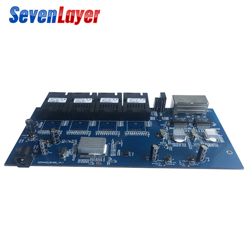 Image 3 - Fiber Optical switch 4 1.25G SC 2 1000M RJ45 Industrial Grade 