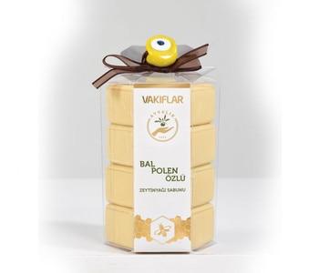 Natural Olive Oil Handmade Honey Soap Honey Milk Face Care Replenishing Whitening Skin Beauty Bleaching Deep Cleansing 400GR skin care weleda 9652 for a child baby cream oil soap cleansing gel newborn