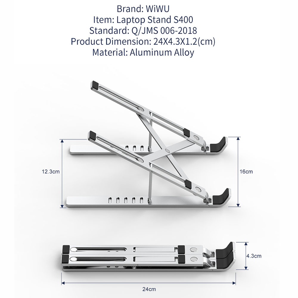 WiWU Laptop Stand S400 Price in Bangladesh 5