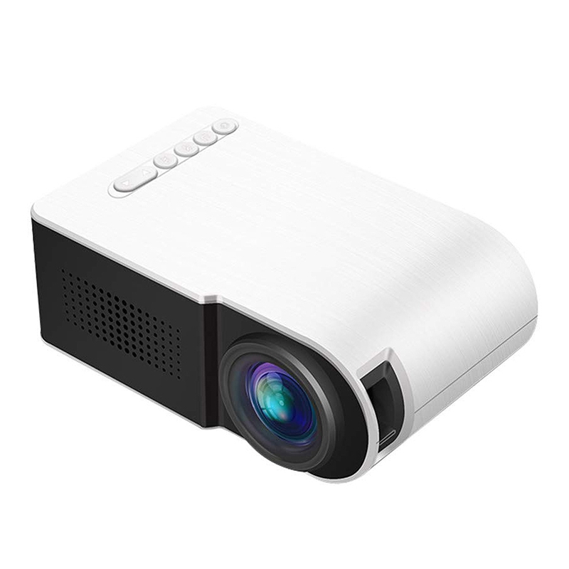 Yg210 1080P Led Mini Projector Portable Projector Device Home Theatre For Home Cinema Theater Indoor Without Battery