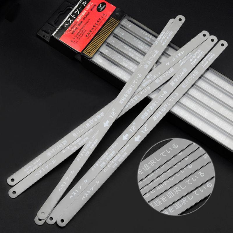 300mm 12-inch Mini Hacksaw Blade Stainless Steel Hand Saw Blade Frame Gereedschap Houtbewerking Testere