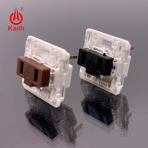 Image 1 - Kailh 로우 프로파일 기계식 키보드 스위치, 노트북 용 초박형 키보드 스위치 선형 촉각 핸드 필링 도매 cpg1232