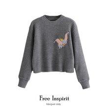 Новое поступление 2020 зимние женские короткие вязаные пуловеры