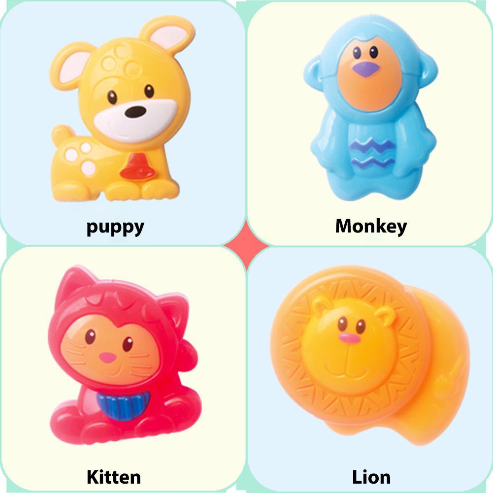 Infants Rattles Baby Bed Hanging Bell For GloryStar Newborn Crib Hanger Cartoon Animal Design Shake And Sound Toy