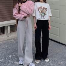 Женские шикарные модные вельветовые прямые брюки 2021 базовые