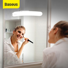 Baseus USB LED Mirror Light Makeup Mirror Vanity Light Adjustable Mirror lamp Portable