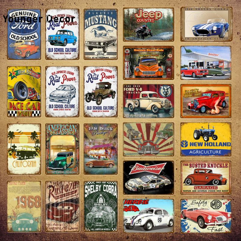 FORD POPULAR METAL SIGN,VINTAGE FORD CARS,CLASSIC FORD CARS,GARAGE SIGN.