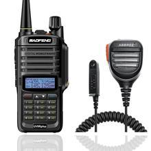 Baofeng UV 9R plus 10W IP68 Walkie Talkie Wasserdicht Dual Band Tragbare CB Jagd Ham Radio UV 9R Plus HF transceiver 9R