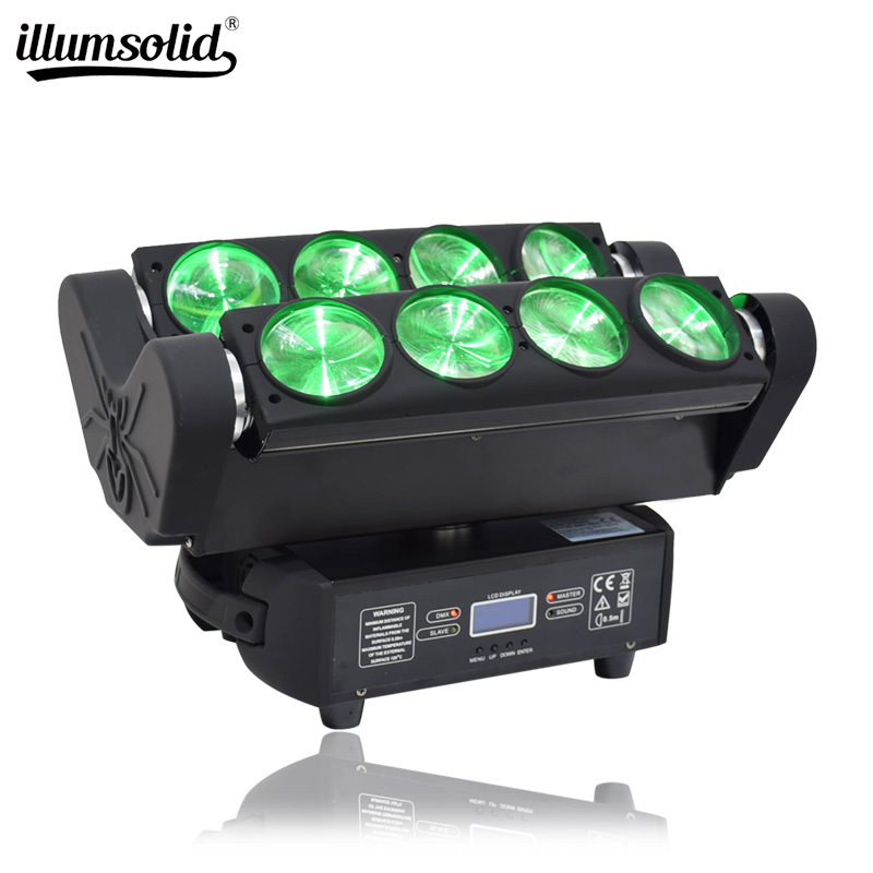 Led Moving Head Dmx Spider Light Dj Equipment For Disco Lighting Wedding Decoration
