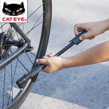 CATEYE 80PSI pompa per bicicletta Mini MTB portatile bici da strada pallacanestro gonfiatore elettrico accessori moto tubo pompe da ciclismo