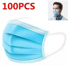 In Stock Disposable Face Mask Anti Pollution Dust PM2.5 Faci