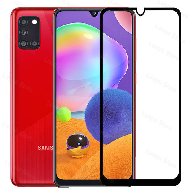 tempered glass for samsung galaxy a21 a31 a41 a21s a 31 a12 a42 a02 glass camera lens screen protector for sasmung a31 a41 a42 2