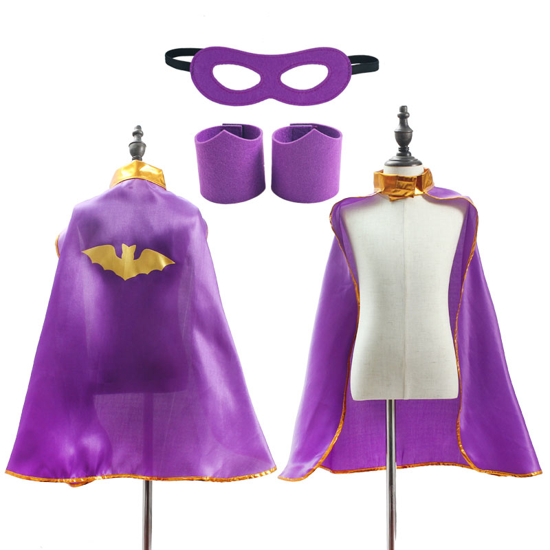 Superhero Capes for Boys Girls Birthday Party Favor Dress Up Halloween Costumes Anime Cosplay 4