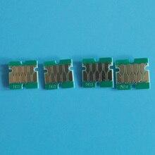 7411-7414/741X Одноразовый чип для Epson суреколор F6070 F7070 F6270 F9270 F9370 чернильный картридж с чернилами абсолютно серийный номер