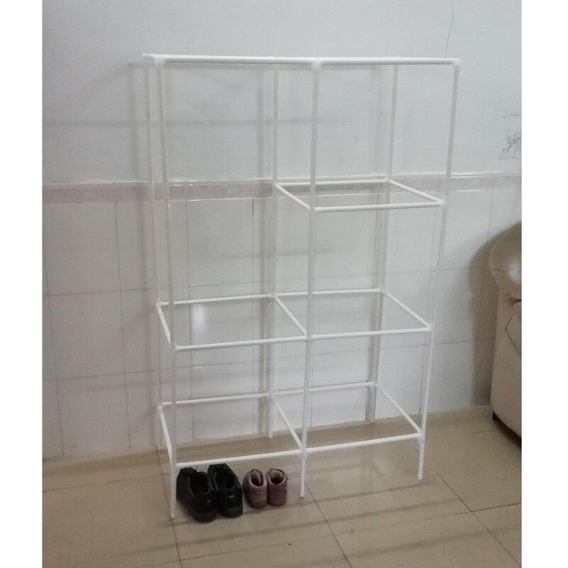 Simple wardrobe shelf for children -8