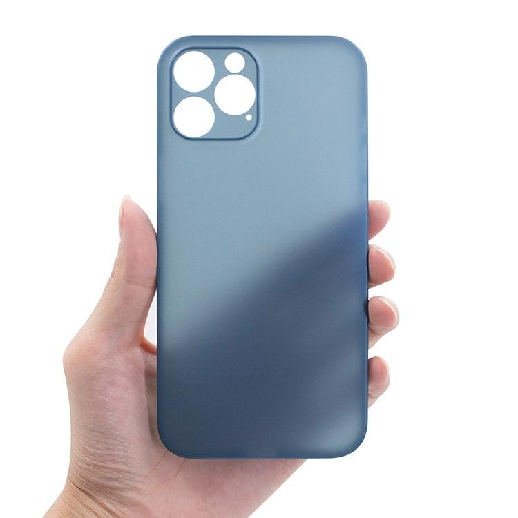 Custodia per telefono opaca Ultra sottile per iPhone 12 11 Pro Max X XR XS Max 7 6 6s 8 Plus SE 2020 custodia protettiva antiurto con copertura completa 2