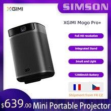 XGIMI Mogo Pro + Smart 1080P proyector portátil Android9.0 TV Mini proyector con 12400mAh de batería HD DLP Mogo Plus