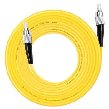 цена на 10PCS/bag  FC/ UPC-FC/ UPC Simplex mode fiber optic patch cord Cable 3.0mm FTTH fiber optic jumper cable free shipping
