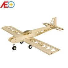 цена на Balsawood Airplane Model Laser Cut Training Trainer T30 1400mm Balsa Building Kit Woodiness model WOOD PLANE